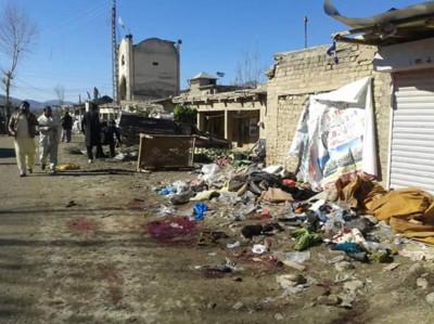 巴基斯坦市場爆炸 至少35死55傷