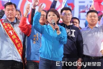盧秀燕勝選之夜 網友感動嗆:民進黨不倒台灣不會好