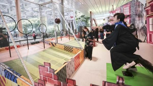 ▲▼樟宜機場「魔法世界假日在樟宜」。(圖/翻攝自Changi Airport Group)