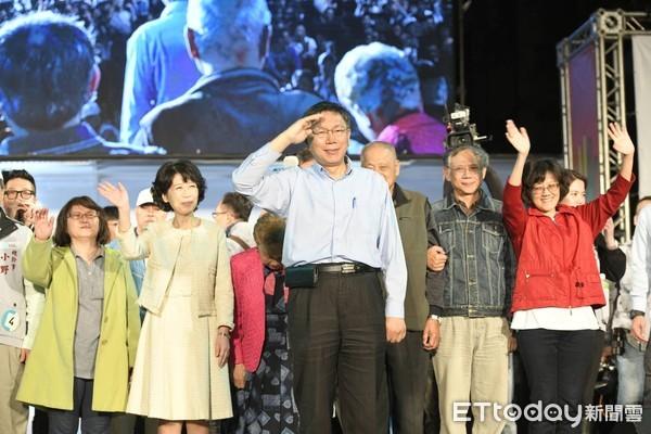 ▲▼台北市長當選人柯文哲。(圖/記者湯興漢攝)
