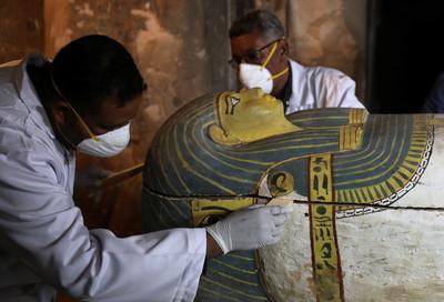 超過3000歲!埃及女木乃伊「超完整」被發現