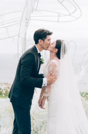 ▲▼ 賈靜雯、修杰楷峇里島婚禮。(圖/ 齊點娛樂有限公司、小小姑娘有限公司)