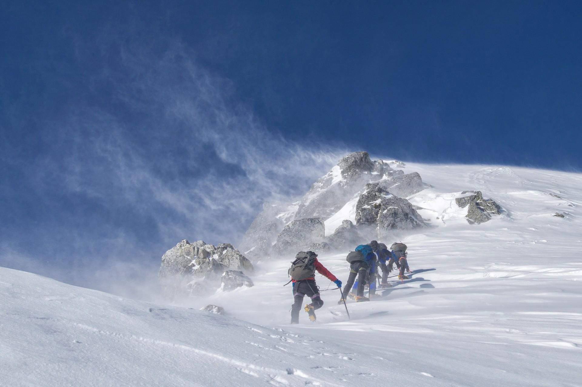 ▲登山。(圖/取自免費圖庫pixabay)