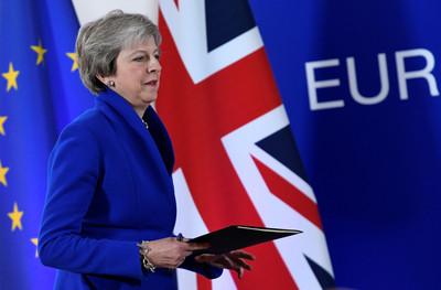 英媒:梅伊將延後脫歐草案表決