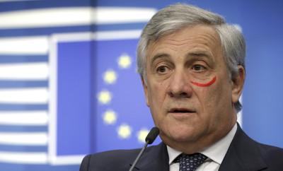 歐洲議長畫口紅!原來是反對婦女暴力