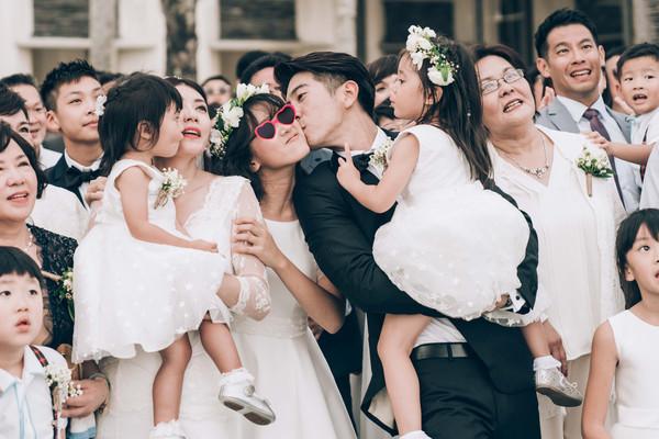 ▲▼賈靜雯、修杰楷峇里島婚禮。(圖/ 齊點娛樂有限公司、小小姑娘有限公司)