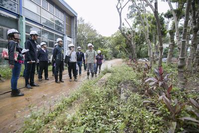 林智堅視察動物園再生工程