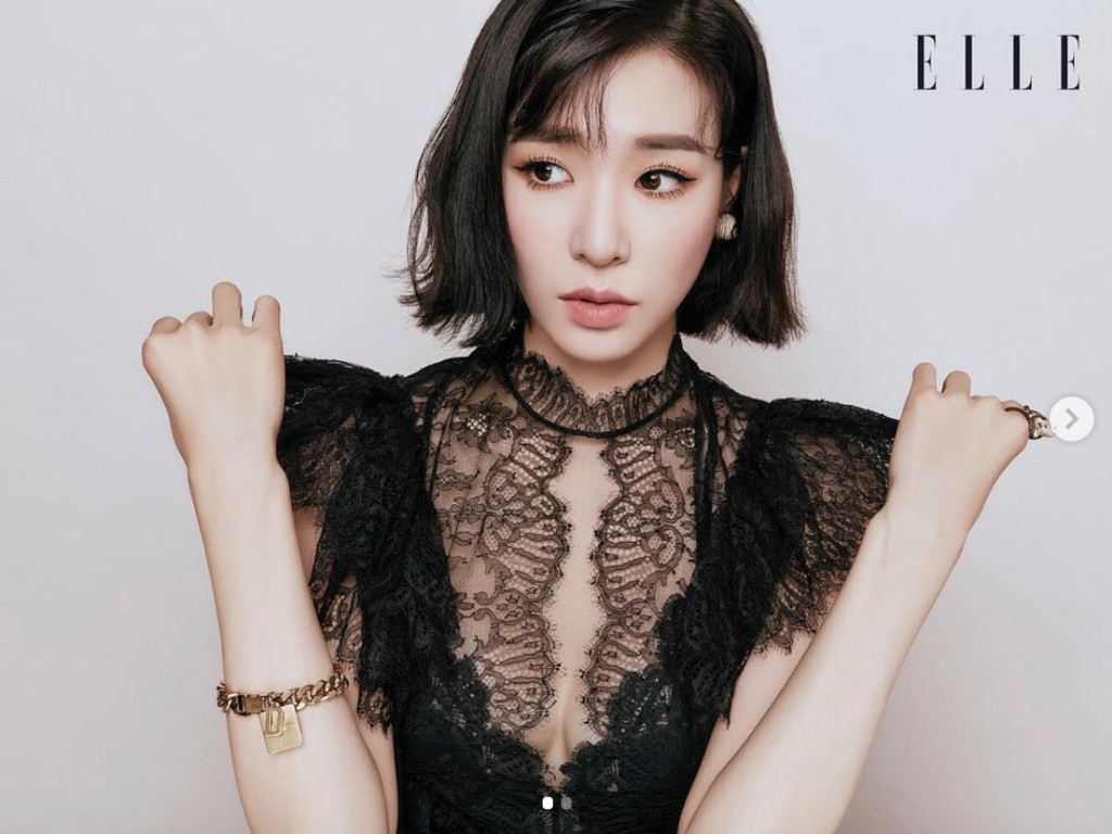 ▲Tiffany。(圖/翻攝自tiffanyyoungofficial IG)