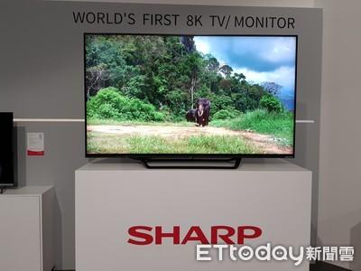 8K電視需求不高 明年預估出貨量腰斬