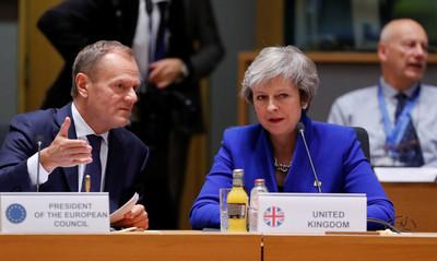 梅伊籲消除協議爭端 歐盟:不會重新談判