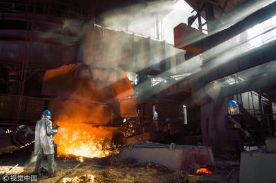 中國工業新增利潤 來源鋼鐵、石油