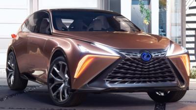 Lexus推超跑級休旅挑戰藍寶堅尼