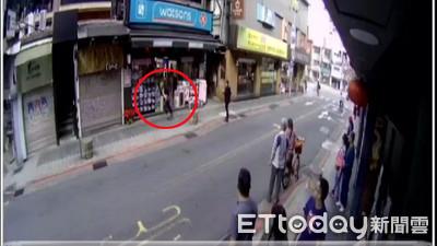 男永康街持刀搶劫 女觀光客摀血臉倒臥櫥窗