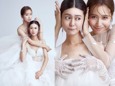 Lulu&白癡公主挺A罩杯穿婚紗
