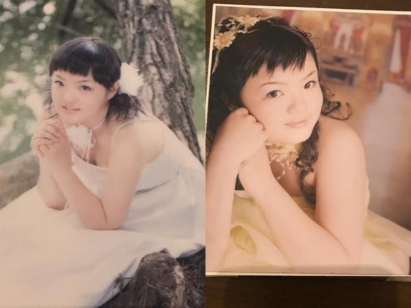 ▲徐佳瑩公開隱藏版「無P婚紗」,過往舊照讓她直說快笑死。(圖/翻攝自徐佳瑩Instagram)