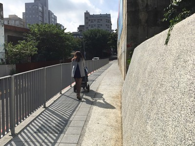金山19街人行道啟用