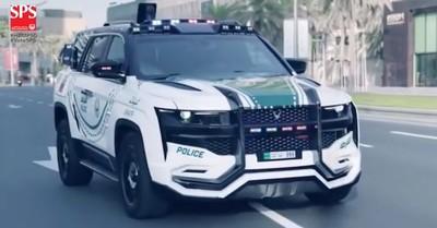 杜拜警方網羅變形金剛打擊犯罪
