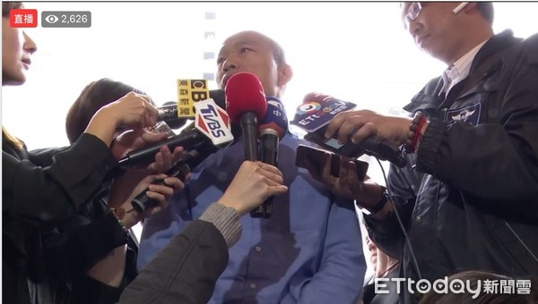 ▲▼韓國瑜今天北上與媒體餐敘。(圖/翻攝自Facebook/ETtoday新聞雲)