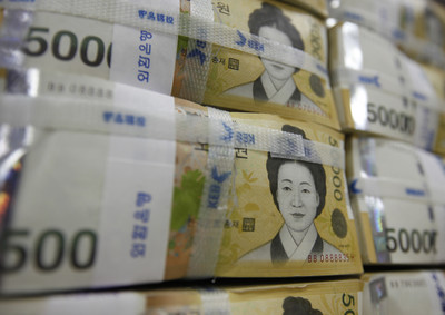 韓元換匯價節節高升!換5萬損失約4100元