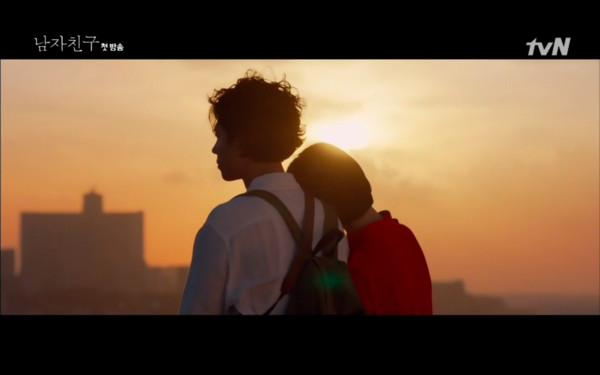 ▲▼宋慧喬吃安眠藥跑出去蹓躂,朴寶劍瞬間出現救了她。(圖/翻攝自tvN)