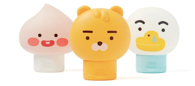 ▲the face shop X little friends。(圖/翻攝自the face shop)