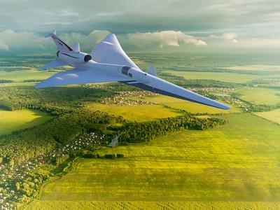 美打造靜音超音速飛機 估2021年首飛