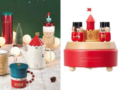 南韓星巴克胡桃鉗聖誕系列開賣