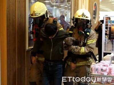 南紡購物中心 聯合消防演練