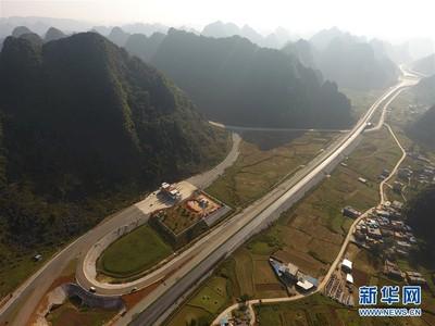 廣西靖西至龍邦高速公路年底通車