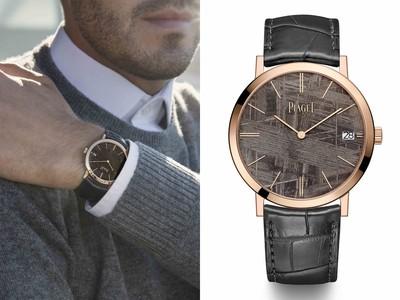 Pre-SIHH/伯爵用「隕石」做錶盤