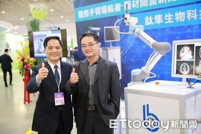 國人驕傲!自行研發手術導航機器人