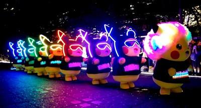 新加坡皮卡丘夜間大遊行14日登場