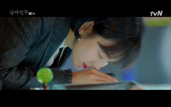 ▲▼雷/《男朋友》朴寶劍最萌發酒瘋! 硬餵宋慧喬吃魷魚(圖/翻攝自tvN)