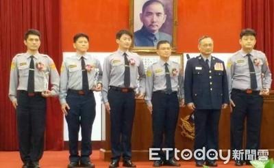 小隊長王俊福等人 獲選績優交警