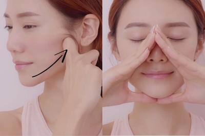 6招臉部瑜伽快速消水腫