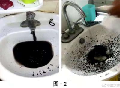 萬戶水管流「墨汁」 沒交錢就遭漠視?
