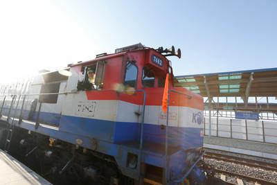 南北韓26日舉行鐵公路對接工程開工儀式