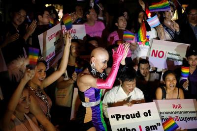 泰國同性伴侶法可望年底通過