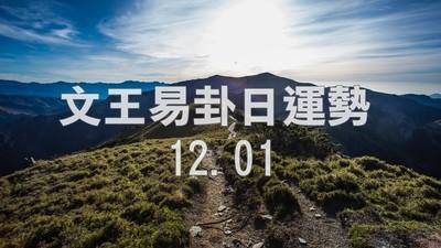 文王易卦【1201日運勢】求卦解先機