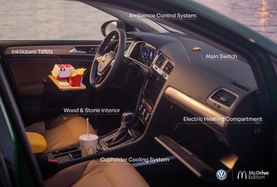 福斯打造「吃麥當勞專用電動車」