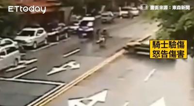 違規險撞騎士 惡霸:你騎錯車道