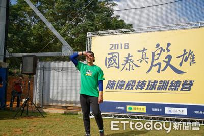 陳偉殷教乙組球員 提升自我表達能力