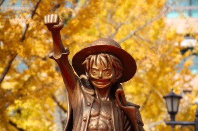 熊本魯夫銅像 航海王夥伴將全加入
