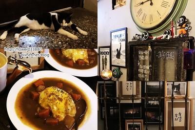 台南深夜食堂咖哩飯配馬鈴薯超美味