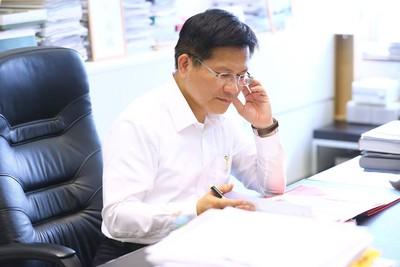 林佳龍宣布「不選黨主席」 籲賴清德留任閣揆