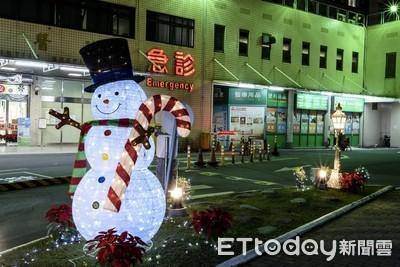 新樓醫院救主聖誕點燈 活動開跑