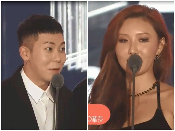 ▲▼「2018MMA」(Melon Music Awards 2018)Loco&華莎。(圖/MyMusic提供)