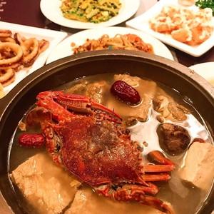 高雄「螃蟹薑母鴨雙人鍋」299元!