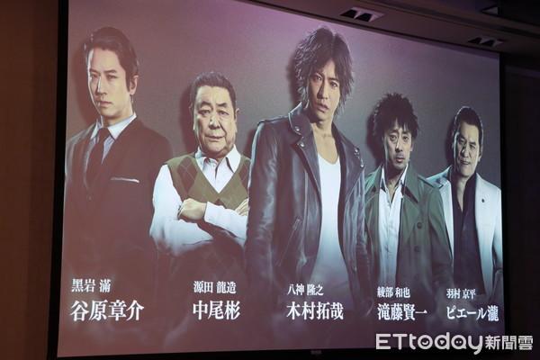 木村拓哉玩自己!?男神親民宣傳PS4新作《審判之眼》粉絲瘋狂。(圖/記者周之鼎攝)
