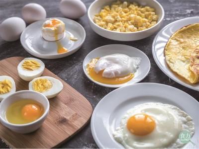 一天能吃幾顆蛋?一張圖秒懂「不同族群攝取量」